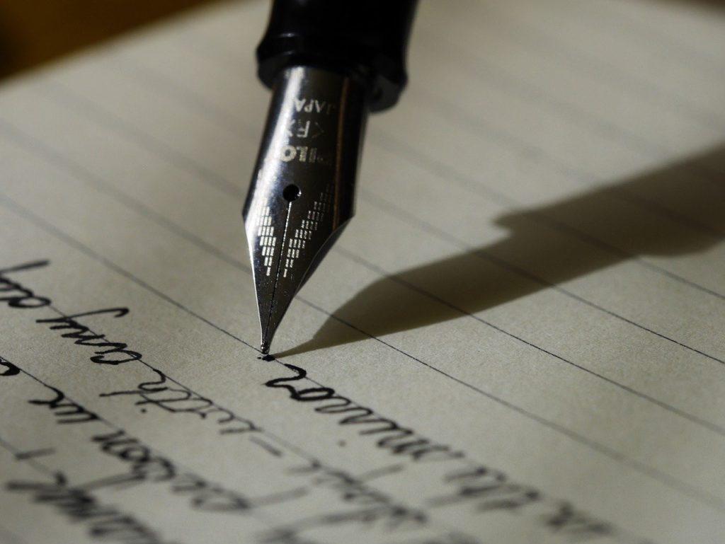 l'écriture pour plus de confiance et de positivité