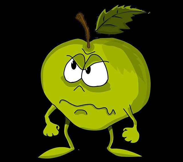 jugement à travers la colère