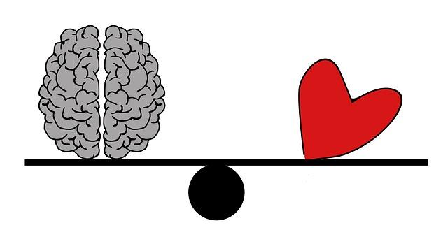 le mental et le coeur ou peur et amour