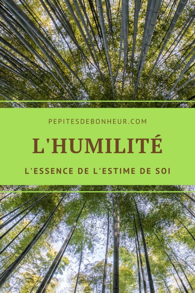 épingle pinterest l'humilité l'essence de l'estime de soi