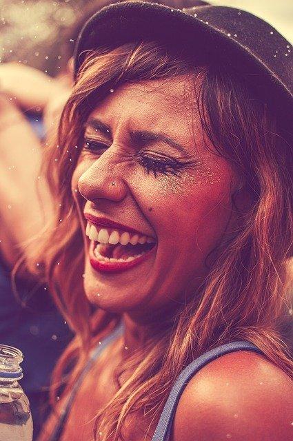 Célébration, Personnes, Jeune Fille, Club, Festival, rire